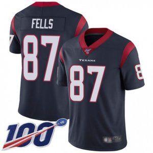 Houston Texans Darren Fells 100th Season Jersey